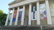 005-REACH banner at Hungarian National Museum